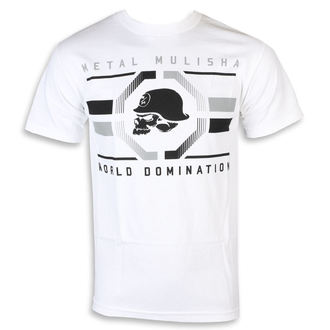 t-shirt street uomo - OCTAGON WHT - METAL MULISHA, METAL MULISHA