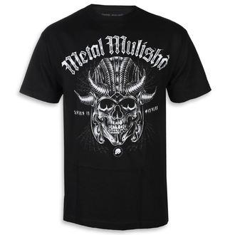 t-shirt street uomo - WARHAMMER BLK - METAL MULISHA, METAL MULISHA
