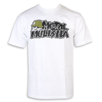 t-shirt street uomo - IKON WHT - METAL MULISHA, METAL MULISHA