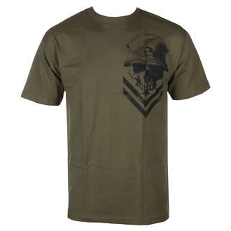 t-shirt street uomo - TROOPER MGN - METAL MULISHA, METAL MULISHA