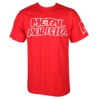 t-shirt street uomo - SQUAD RED - METAL MULISHA, METAL MULISHA