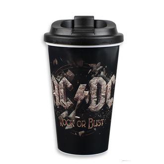 Tazza  AC  /  DC  - to Go - FBI., F.B.I., AC-DC