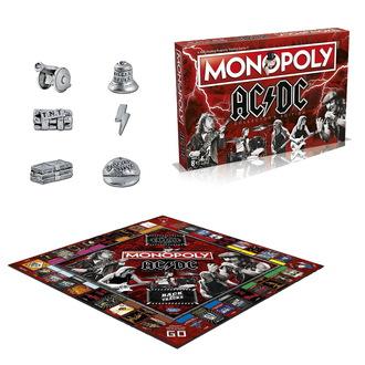 Tavola gioco  AC  /  DC  - Monopoly, NNM, AC-DC