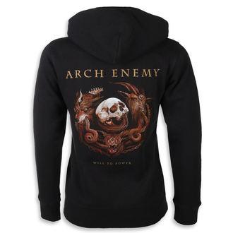 felpa con capuccio donna Arch Enemy - Will to Power -, Arch Enemy