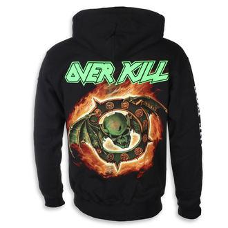 felpa con capuccio uomo Overkill - Horrorscope -, Overkill