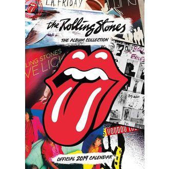 Calendario per anno 2019 - ROLLING STONES, Rolling Stones