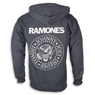 felpa con capuccio uomo Ramones - HEY HO LET'S GO - PLASTIC HEAD, PLASTIC HEAD, Ramones