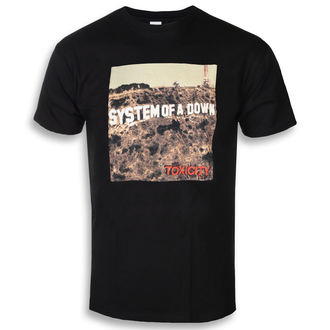 t-shirt metal uomo System of a Down - TOXICITY - PLASTIC HEAD, PLASTIC HEAD, System of a Down