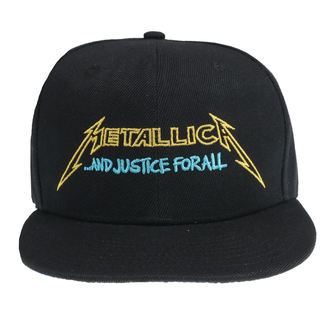 berretto Metallica - Justice Bright Starter - Nero, NNM, Metallica