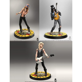 figure (set) Guns N' Roses - Band - Roccia Iconz, KNUCKLEBONZ, Guns N' Roses