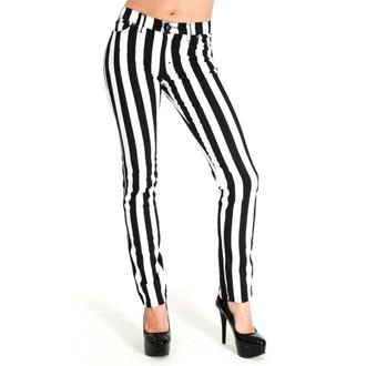 pantaloni uomo 3RDAND56th - Stripe Skinny - Blk / wht, 3RDAND56th