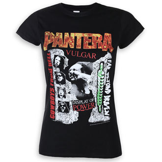 t-shirt metal donna Pantera - 3 Albums - ROCK OFF, ROCK OFF, Pantera