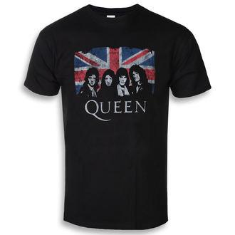 t-shirt metal uomo Queen - Union Jack - ROCK OFF, ROCK OFF, Queen