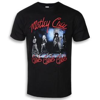 t-shirt metal uomo Mötley Crüe - Smokey Street - ROCK OFF, ROCK OFF, Mötley Crüe
