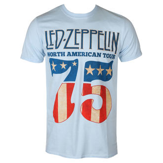 t-shirt metal uomo Led Zeppelin - 1975 North American Tour - NNM, NNM, Led Zeppelin
