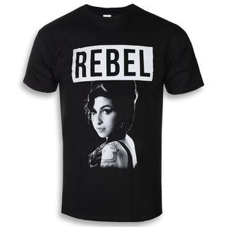 t-shirt metal uomo Amy Winehouse - Rebel - ROCK OFF, ROCK OFF, Amy Winehouse