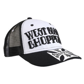 berretto WEST COAST CHOPPERS - CLUTCH LOGO ROUND BILL - Nero, West Coast Choppers