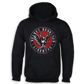felpa con capuccio uomo Velvet Revolver - Black - HYBRIS, HYBRIS, Velvet Revolver