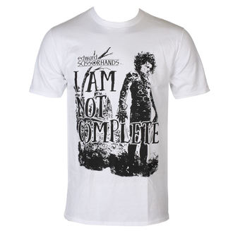 t-shirt film uomo Edward Scissorhands - I Am Not Complete - HYBRIS, HYBRIS, Edward mani di forbice
