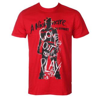 tričko pánské Noční můra z Elm Street - Freddy Krueger - Come Out And Play - Red - HYBRIS, HYBRIS, Nightmare - Dal profondo della notte