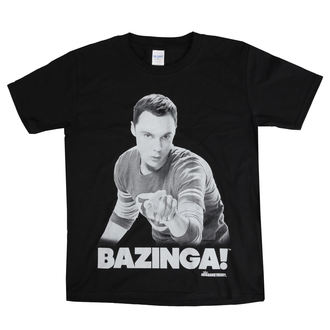 t-shirt film bambino Teorie velkého třesku - Sheldon Says BAZINGA! - HYBRIS, HYBRIS, Teorie velkého třesku