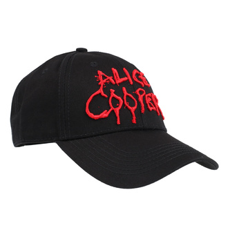 berretto Alice Cooper - Dripping Logo - ROCK OFF, ROCK OFF, Alice Cooper