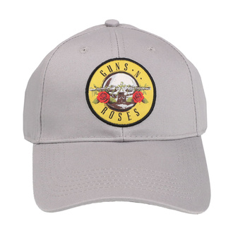 berretto Guns N' Roses - Circle Logo - GRIGIO - ROCK OFF, ROCK OFF, Guns N' Roses