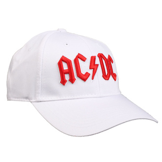 berretto  AC  /  DC  - Red Logo White - ROCK OFF, ROCK OFF, AC-DC