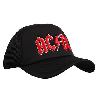 berretto  AC  /  DC  - Red Logo Black - ROCK OFF, ROCK OFF, AC-DC