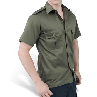 camicia SURPLUS - US Hemd 1/2 - OLIV, SURPLUS