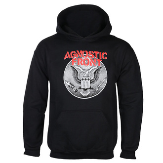 felpa con capuccio uomo Agnostic Front - AGAINST ALL EAGLE - PLASTIC HEAD, PLASTIC HEAD, Agnostic Front