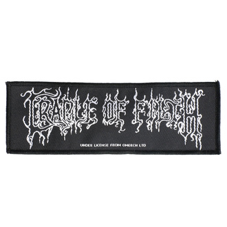 toppa Cradle Of Filth - Logo - RAZAMATAZ, RAZAMATAZ, Cradle of Filth