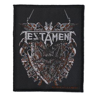 toppa Testament - Shield - RAZAMATAZ, RAZAMATAZ, Testament