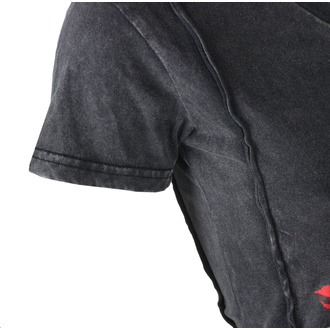t-shirt hardcore donna - ANGEL RED DAGGER SKULL - LETHAL THREAT, LETHAL THREAT