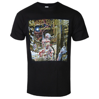 t-shirt metal uomo Iron Maiden - Somewhere In Time - ROCK OFF, ROCK OFF, Iron Maiden