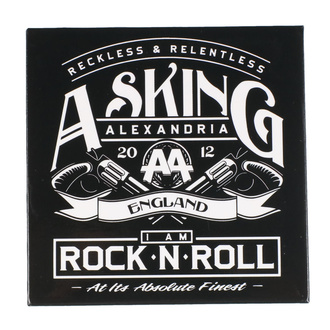 Magnete Asking Alexandria - ROCK OFF, ROCK OFF, Asking Alexandria