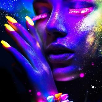 Smalto STAR GAZER - Neon Violet, STAR GAZER