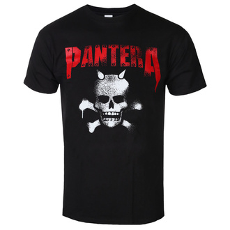 t-shirt metal uomo Pantera - Horned Skull Stencil - ROCK OFF, ROCK OFF, Pantera