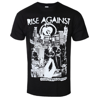 t-shirt metal uomo Rise Against - Fires - KINGS ROAD, KINGS ROAD, Rise Against