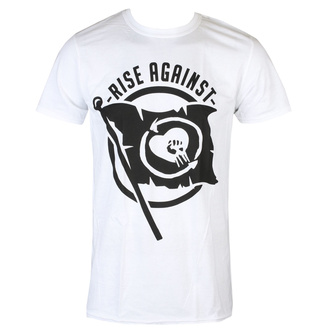 t-shirt metal uomo Rise Against - Flag - KINGS ROAD, KINGS ROAD, Rise Against