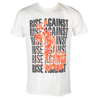 t-shirt metal uomo Rise Against - Flame - KINGS ROAD, KINGS ROAD, Rise Against