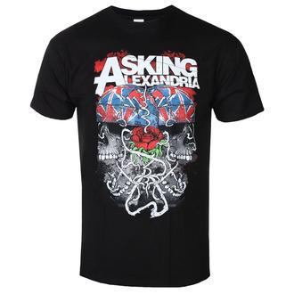 t-shirt metal uomo Asking Alexandria - ROCK OFF - ROCK OFF, ROCK OFF, Asking Alexandria