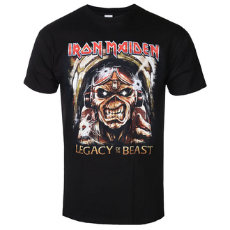 t-shirt metal uomo Iron Maiden - Legacy - ROCK OFF, ROCK OFF, Iron Maiden