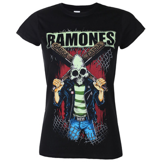 t-shirt metal donna Ramones - GABBA GABBA HEY - PLASTIC HEAD, PLASTIC HEAD, Ramones