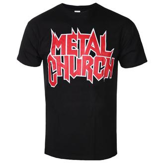 t-shirt metal uomo Metal Church - LOGO - PLASTIC HEAD - PH11497