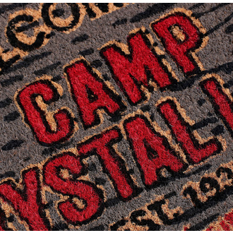 zerbino Friday the 13th - Doormat Welcome To Camp, NNM, Friday the 13th