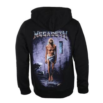 felpa con capuccio uomo Megadeth - COUNTDOWN TO EXTINCTION - PLASTIC HEAD, PLASTIC HEAD, Megadeth