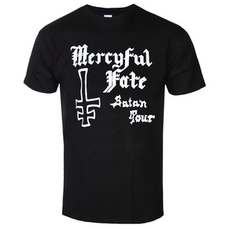 t-shirt metal uomo Mercyful Fate - SATAN TOUR 1982 - PLASTIC HEAD, PLASTIC HEAD, Mercyful Fate