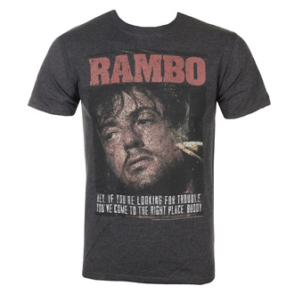 t-shirt film uomo Rambo - Gimme Dat Sizzle - AMERICAN CLASSICS, AMERICAN CLASSICS, Rambo