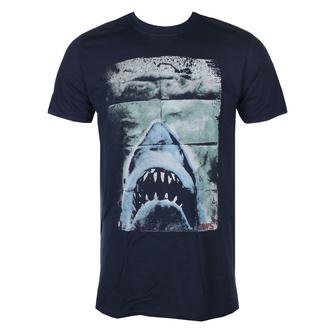 t-shirt film uomo JAWS - Folded Poster - AMERICAN CLASSICS, AMERICAN CLASSICS, Lo squalo